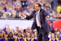 On to the Championship! Mike Krzyzewski and the Duke Blue Devils are headed to the title game. #MyCoach