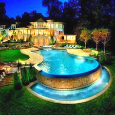 nice big house and modern pool i think that the whole pool might be bigger than the whole house house pinterest modern pools big houses and modern - Nice Big Houses With Pools