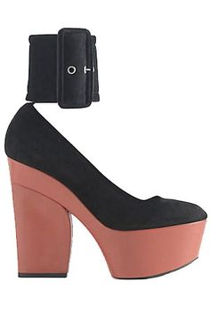 Céline's Ankle Strap Wedge #celine #wedge #shoes
