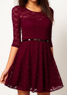 http://www.outletpad.com/clothing-and-apparel/lace-dress-include-belt-blue-beige-red.html