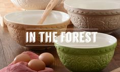 In the Forest | Mason Cash, really great ceramics