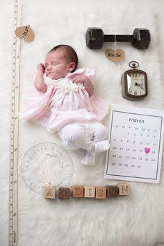 Newborn Girl, 6 Days Danielle Danver Photography