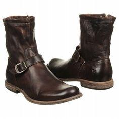 Men's Frye Phillip Inside Zip Dark Brown Shoes.com
