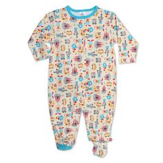 Zutano Unisexbaby Infant Le Cirque Footie Cream 9 Months ** Details can be found by clicking on the image.
