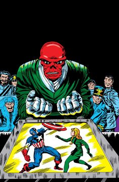 Red Skull by Jack Kirby