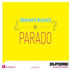 Qué prefieres? #sentado #parado