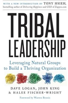 Tribal Leadership: Leveraging Natural Groups to Build a Thriving Organization by Dave Logan http://www.amazon.com/dp/0061251321/ref=cm_sw_r_pi_dp_olR2tb1334SBBCKH