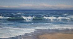 """Laguna Surf"" is an outstanding original oil painting by highly acclaimed fine artist Matt Smith. ""Laguna Surf"" measures x Oil Painting Pictures, Watercolor Pictures, Seascape Paintings, Landscape Paintings, Acrylic Paintings, Watercolor Ocean, Ocean Scenes, Action Painting, Sea Art"