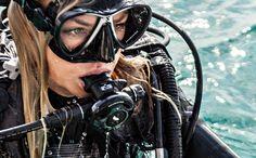 Scuba Wetsuit, Diving Wetsuits, Diving Suit, Scuba Diving Gear, Scuba Diver Costume, Diving Lessons, Diving Regulator, Dive Mask, Scuba Girl