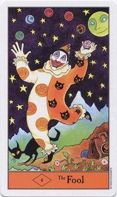 Fool from the Halloween Tarot