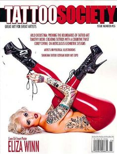 TATTOO SOCIETY Magazine October 2016 ELIZA WINN, Arlo Dicristina, Timothy Boor