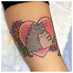 Pusheen-Tattoo-05-The Bunny Machine-001