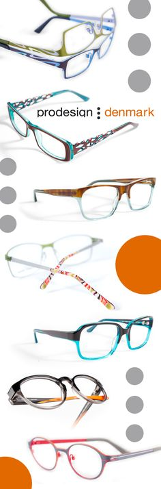 Need to brighten up your spexy wardrobe? Not a problem. ProDesign has endless options, all with great colors and detailing, whether you're craving temple cut-outs, two tones or a new shape. Funky Glasses, Types Of Glasses, Eye Glasses, Mens Frames, Eyewear Trends, Four Eyes, Optical Frames, Optician, Swag Style