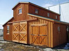 horse barn | Horse Barns, shed row, run-in barn, modular horse barns