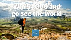 Win $1,000 from Dohop and see the world