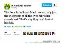 Super Mario Boos Mind Blowing Fact