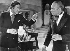 """""""Sleuth"""" (1972) - Michael Caine & Laurence Oliver"""