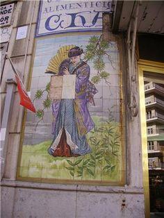 Antiga casa de chá, Av. 5 de Outubro, Lisboa
