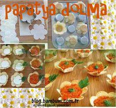 Papatya Dolması - http://blog.bambum.com.tr/papatya-dolmasi/#