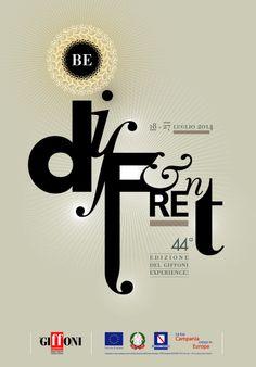 Be DIFFERENT  Design Bruno Morello