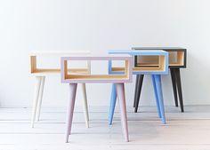 Furniture, home accessories Bedroom Color Schemes, Bedroom Colors, Bedside Tables, Nightstand, Bedroom Table, Handmade Furniture, Scandinavian Style, Midcentury Modern, Guest Room