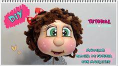 (58) TUTORIAL CÓMO MODELAR CABEZA DE FOFUCHA - YouTube
