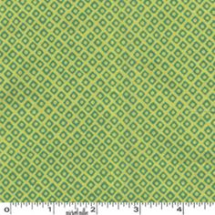 FOR CRIB SHEET? Michael Miller House Designer - Mod Basics - Dot n Square in Acid