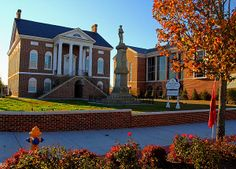 Old Lancaster County Court House, now the town's visitors center.  Visit www.walnutcreeksc.com to find out why Walnut Creek was listed as the third best-selling community in all of #Charlotte (source: Metro Study)!  Building your #DreamHome is now within your reach! #Lancaster County #SC.