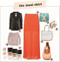 maxi skirt fashion with no makeup and jewelry  = Apostolic
