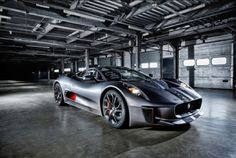 The Phenomenal #Jaguar C-X75 Concept Car