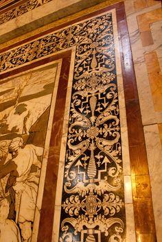 Toscana Siena Duomo - Marquetry floor in marble   #TuscanyAgriturismoGiratola