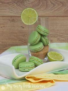 Limetten Macarons