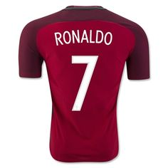 Portugal Euro 2016 Home Authentic Men Soccer Jersey RONALDO #7 Item Specifics - Brand: NIKE - Gender: Men's Adult - Model Year: 2016-2017 - Material: Polyester - Type of Brand Logo: Embroidered - Type   RePinned by : www.powercouplelife.com