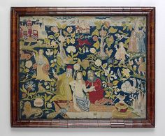 Framed picture Date: mid-17th century Culture: British Medium: Silk on canvas Dimensions: H. 15 1/2 x W. 19 inches (39.4 x 48.3 cm); Framed: H. 19 1/4 x W. 22 1/2 x D. 1 1/4 inches (48.9 x 57.2 x 3.2 cm) Classification: Textiles-Embroidered