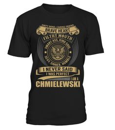 """# CHMIELEWSKI - I Nerver Said .  Special Offer, not available anywhere else!      Available in a variety of styles and colors      Buy yours now before it is too late!      Secured payment via Visa / Mastercard / Amex / PayPal / iDeal      How to place an order            Choose the model from the drop-down menu      Click on """"Buy it now""""      Choose the size and the quantity      Add your delivery address and bank details      And that's it!"""