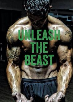 Unleash the beast ~ Re-Pinned by Crossed Irons Fitness