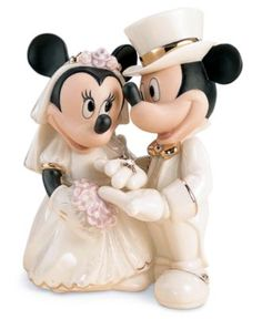 Lenox Collectible Disney Figurine, Mickey Mouse and Friends Minnie Mouse's Dream Wedding - Collectible Figurines - for the home - Macy's