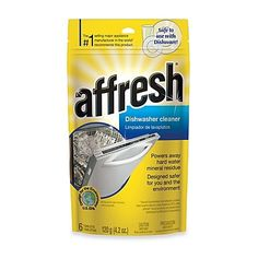 Affresh Dishwasher Cleaner 6Pack l Remove Odors and Hard Water Mineral Residue -- Check this awesome product by going to the link at the image.