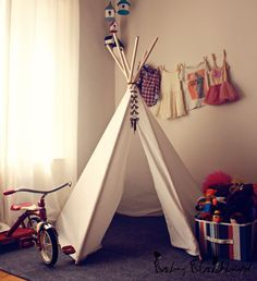 DIY TIPI INDIO | Decorar tu casa es facilisimo.com