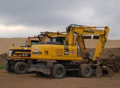 Komatsu equipment for construction company
