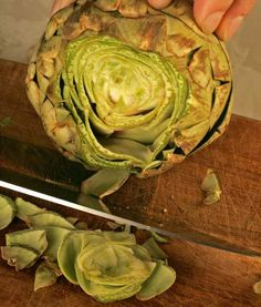 Look for artichokes now and give them a try.