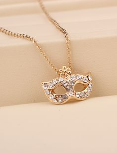 Mask Chain Necklace
