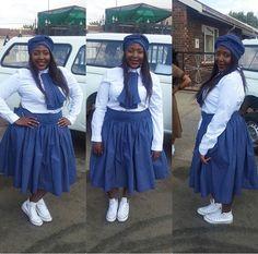 Setswana outfit Wedding Bridesmaid