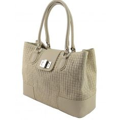 Italian Made, Genuine Leather Handbag - Sandra Taupe Sky - Melbourne Australia - Buy Now How To Make Handbags, Melbourne Australia, Leather Handbags, Buy Now, Taupe, Italy, Sky, Stuff To Buy, Beige