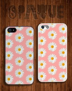 Pink Daisy Floral Apple iPhone 5 5s