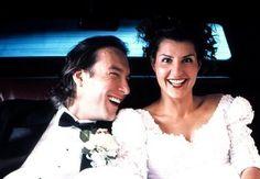 John Corbett and Nia Vardalos in'My Big Fat Greek Wedding' (Everett)