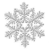 small snowflake tattoos | silver