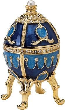 The Pushkin Collection: Natalia Fabergé-Style Enameled Egg #SecurityJewelers