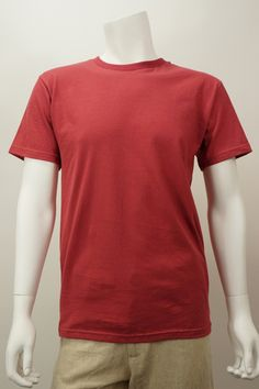 Classic Crew by Spiritex. American Made. See the designer's work at the 2015 American Made Show, Washington DC. January 16-19, 2015. americanmadeshow.com #shirt, #americanmade, #red
