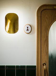 BÖRZE on Behance #toilets #sign